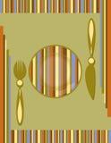 Hintergrund des Menüs Stockfotografie