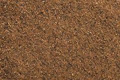 Hintergrund des Muskatnutspuders (Myristica fragrans). stockfotos