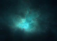Hintergrund des nächtlichen Himmels stock abbildung
