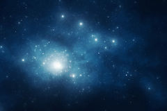 Hintergrund des nächtlichen Himmels lizenzfreie abbildung