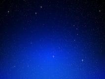Hintergrund des nächtlichen Himmels Stockbilder