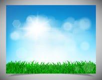 Hintergrund des natürlichen Lichtes Stockfoto