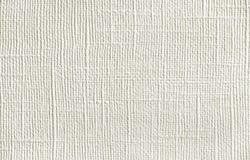 Hintergrund des natürlichen Materials, dekorative Mattierung, weiße Tapete mit Leinenstruktur Stockfotos