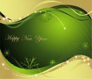 Hintergrund des neuen Jahres Lizenzfreies Stockfoto