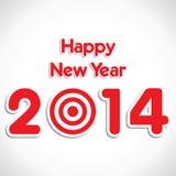 Hintergrund des neuen Jahres stock abbildung