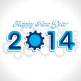 Hintergrund des neuen Jahres Stockbild
