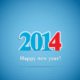 Hintergrund des neuen Jahres Stockfotografie