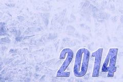 Hintergrund 2014 des neuen Jahres Lizenzfreie Stockfotografie