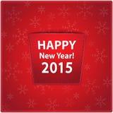 Hintergrund des neuen Jahres Lizenzfreie Stockfotografie