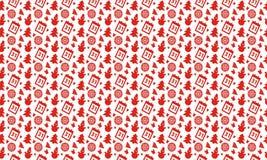 Hintergrund des neuen Jahres des Musters des Vektordesigns Lizenzfreies Stockbild
