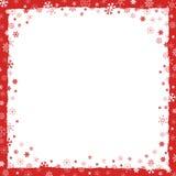 Hintergrund des neuen Jahres (Weihnachten) mit Rand Stockfotos