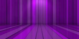 Hintergrund des Purpurs 3d Lizenzfreie Stockfotografie