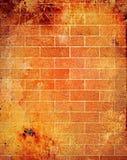 Hintergrund des roten Backsteins Stockbilder