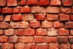 Hintergrund des roten Backsteins stockbild