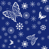 Hintergrund des Schmetterlingsfliegens Lizenzfreies Stockbild