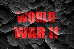 Hintergrund des Schmutz-gebrochener Weltkriegs 2 Stockfoto