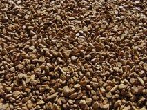 Hintergrund des sofortigen Kaffees Hintergrund des löslichen Kaffees Stockbild