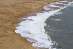 Hintergrund des Strandes sand Stockbild