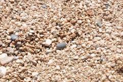 Hintergrund des Strandes sand Lizenzfreies Stockbild