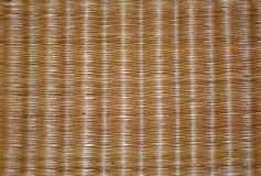 Hintergrund des Strohmatten clouseup stockbilder