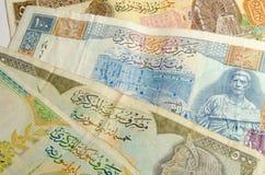 Hintergrund des syrischen Pfund Lizenzfreies Stockfoto