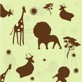 Hintergrund des Tieres Stockbild