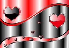 Hintergrund des Valentinsgrußes Lizenzfreie Stockbilder