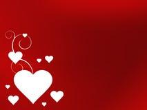 Hintergrund des Valentinsgrußes Stockfotos