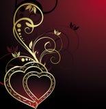 Hintergrund des Valentinsgrußes Stockfoto