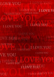 Hintergrund des Valentinsgrußes ich liebe dich lizenzfreies stockfoto