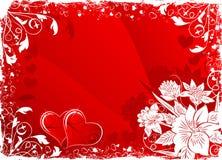 Hintergrund des Valentinsgrußes Stockbilder