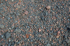 Hintergrund des vulkanischen Felsens Stockbild