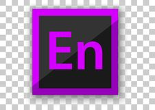 Hintergrund des weißen Quadrats des Adobe-Zugabenikonendesigns Stockfoto
