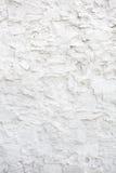 Hintergrund des weißen Ziegelsteines der grungy Beschaffenheit des Alters und der Steinwand Stockfoto
