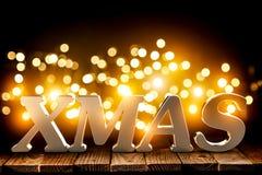 Hintergrund des Weihnachten 3d Lizenzfreies Stockbild