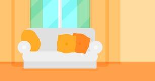 Hintergrund des Wohnzimmers Stockbilder