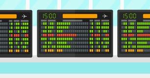 Hintergrund des Zeitplanbrettes Lizenzfreie Stockbilder