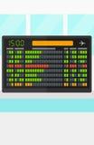 Hintergrund des Zeitplanbrettes Stockbild