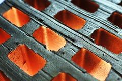 Hintergrund des zellulären Ziegelsteines stockbilder