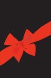 Hintergrund. Ein roter Bogen mit einem Farbband für Auslegung Stockfoto