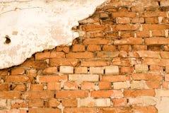 Hintergrund eine Backsteinmauer Lizenzfreies Stockfoto