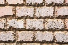 Hintergrund Eine Wand hergestellt von den Steinen stockfoto