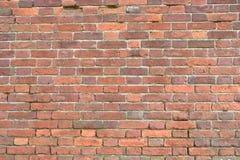 Hintergrund einer Backsteinmauerbeschaffenheit, 50 Jahre alt Lizenzfreie Stockbilder