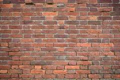 Hintergrund einer Backsteinmauerbeschaffenheit, 50 Jahre alt Stockfotos