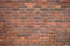 Hintergrund einer Backsteinmauerbeschaffenheit, 50 Jahre alt Lizenzfreies Stockfoto