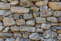 Hintergrund eines alten Steinziegelsteines wal Stockfotos
