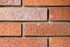 Hintergrund eines Ziegelsteines vom nahen Abstand Stockfotos