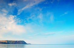 Hintergrund für Auslegung mit dem Himmel Lizenzfreies Stockfoto
