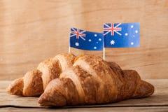 Hintergrund für australischen Tag Lizenzfreie Stockfotos