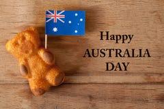 Hintergrund für australischen Tag Lizenzfreies Stockbild